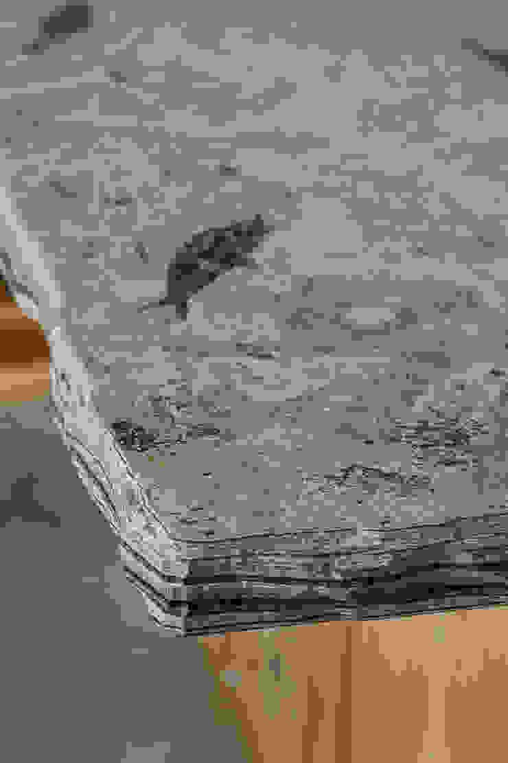 Fossilised Sandstone Work top PAN|brasilia UK Ltd 廚房長凳套