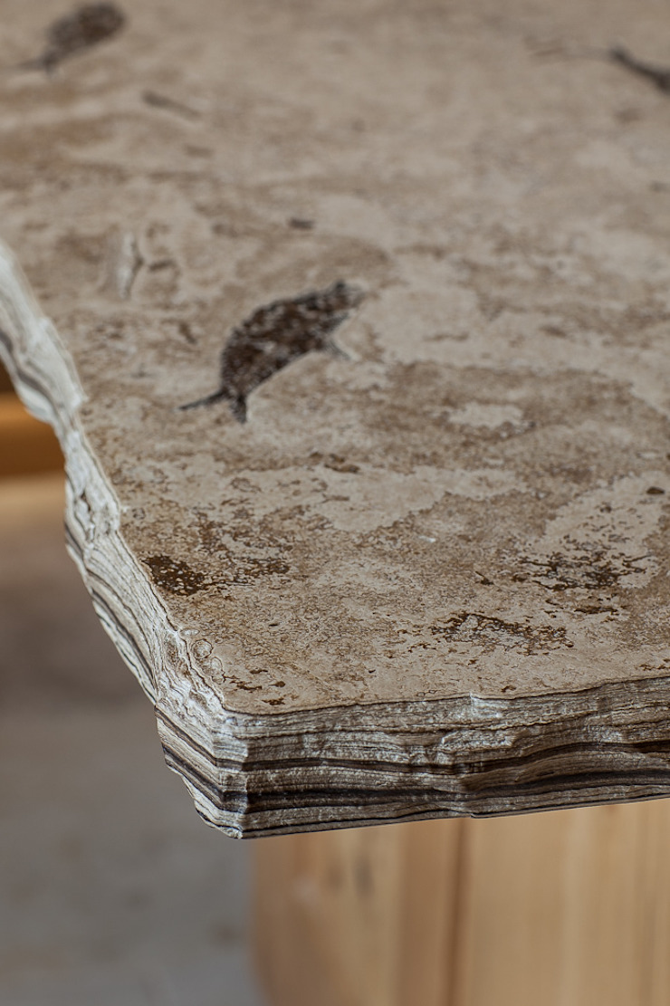 Fossilised Sandstone Work top PAN|brasilia UK Ltd KitchenBench tops