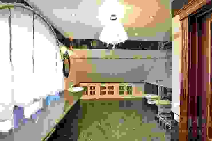 Дизайн-проект интерьера ванной комнаты гостевой. Ванная в классическом стиле от ИнтеРИВ Классический