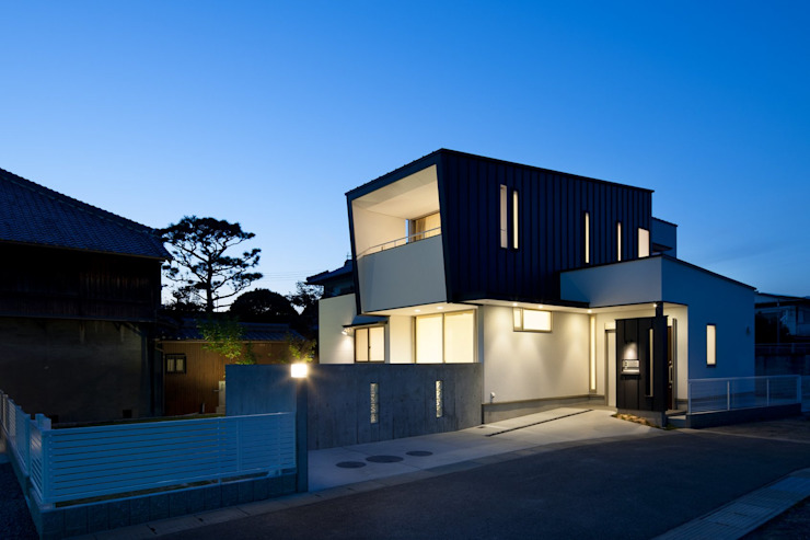 Rumah Modern Oleh 一級建築士事務所 想建築工房 Modern