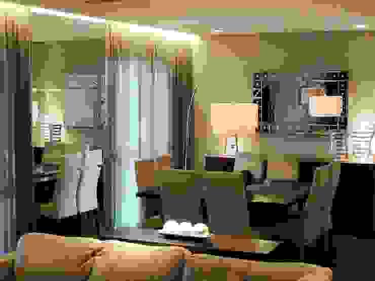 Comedores de estilo moderno de Roesler e Kredens Arquitetura Moderno