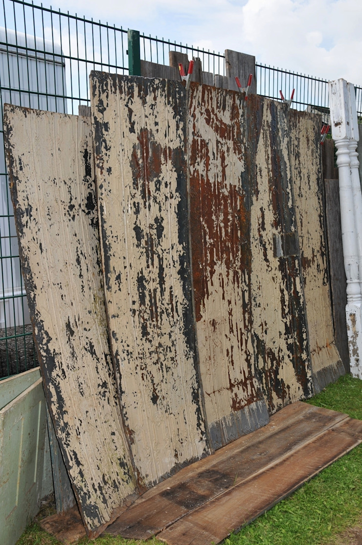 Vintage Tin Tile: rustic  by Tramps (UK) Ltd, Rustic