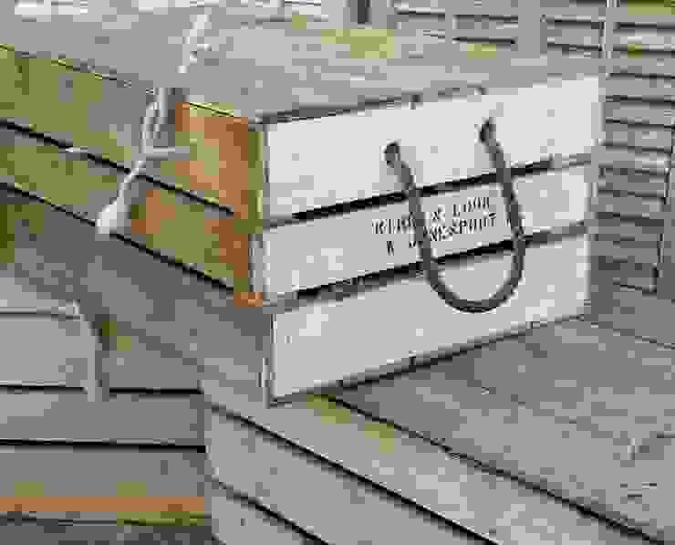 Lobster crates: rustic  by Tramps (UK) Ltd, Rustic