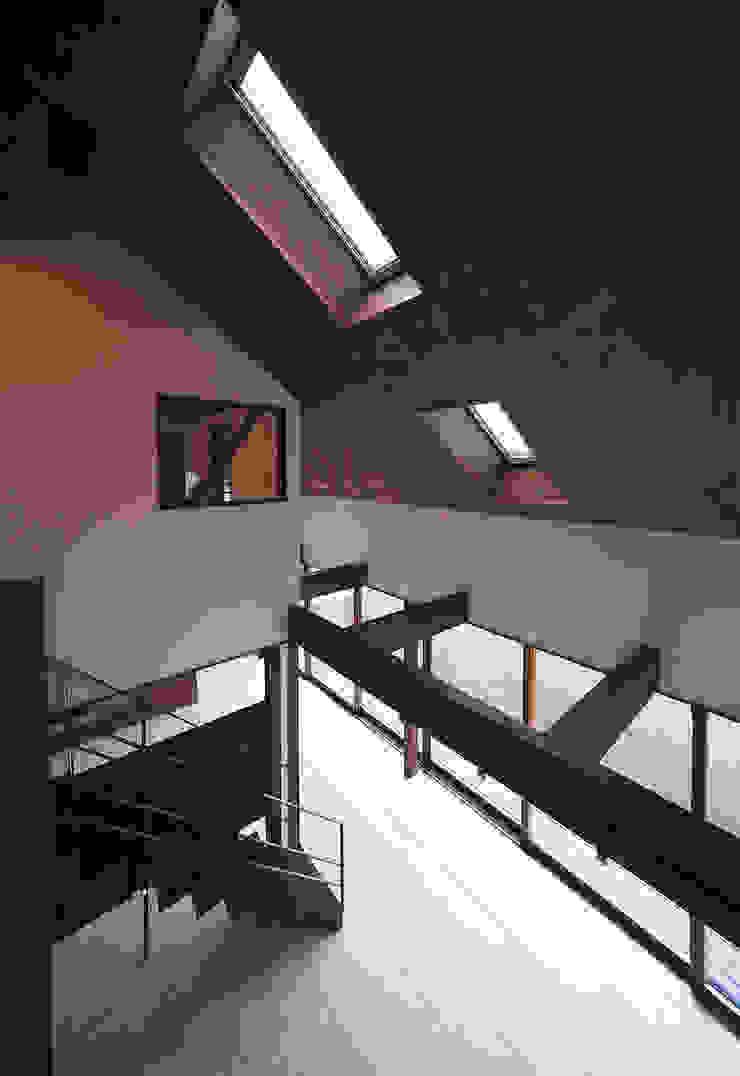高気密高断熱の大屋根の家 カントリーデザインの 書斎 の STUDIO POH カントリー