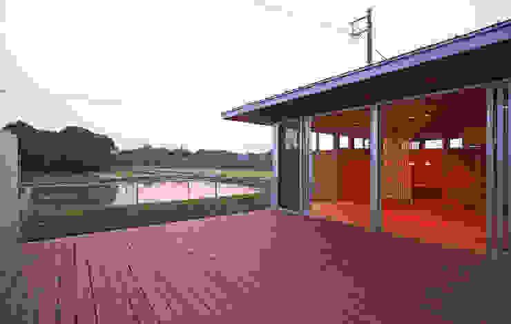 Balcon, Veranda & Terrasse modernes par STUDIO POH Moderne