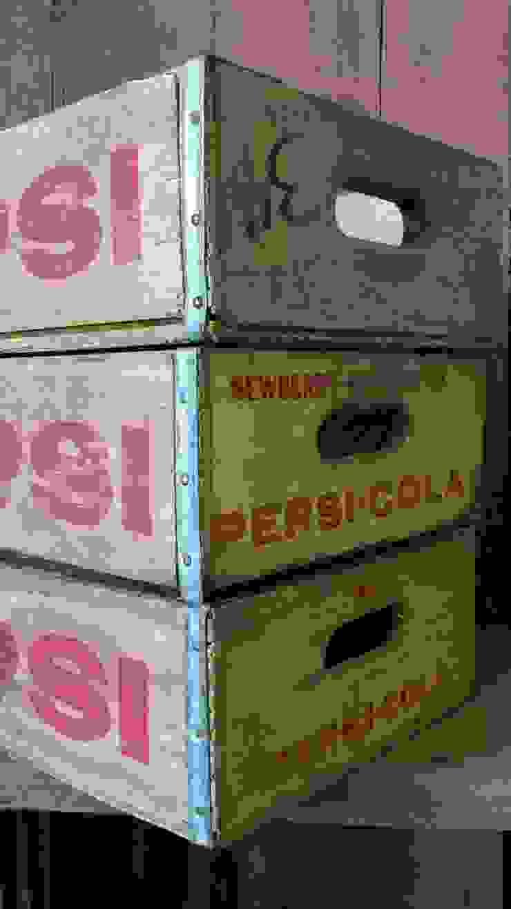 Original vintage Pepsi crate: rustic  by Tramps (UK) Ltd, Rustic