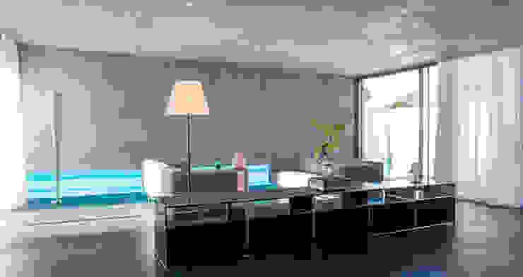 Maison contemporaine par Inter-Faces Moderne