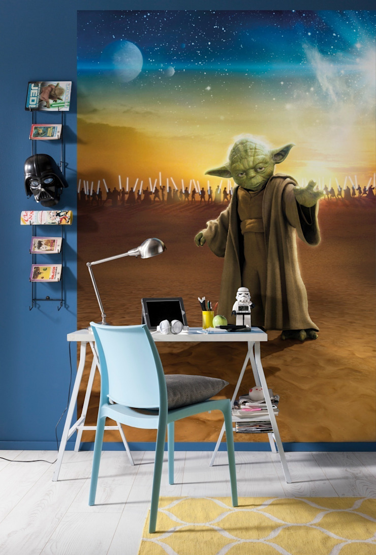 Star Wars Photomural 'Master Yoda' ref 4-442: modern  by Paper Moon, Modern