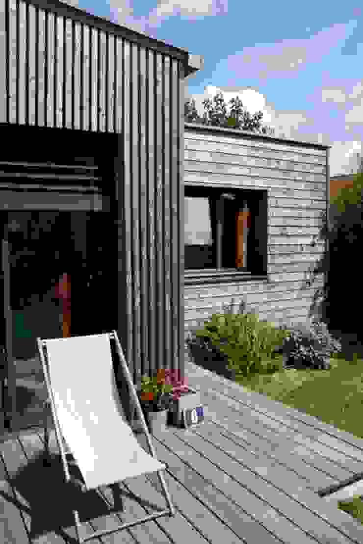 Extension Bois Pour Une Cuisine Salle A Manger By Ec Architecture