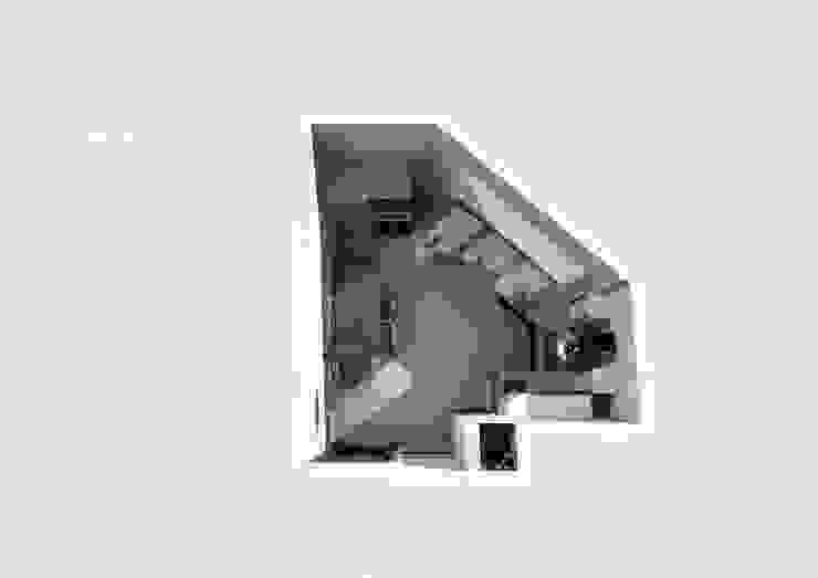 Дизайн-проект кухни 12 кВ.м с нестандартной планировкой:  в современный. Автор – Мастерская Дизайна, Модерн