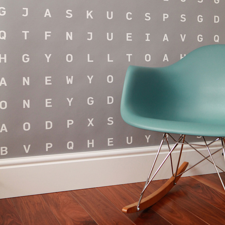 Custom Word Search Wallpaper de Identity Papers Ecléctico