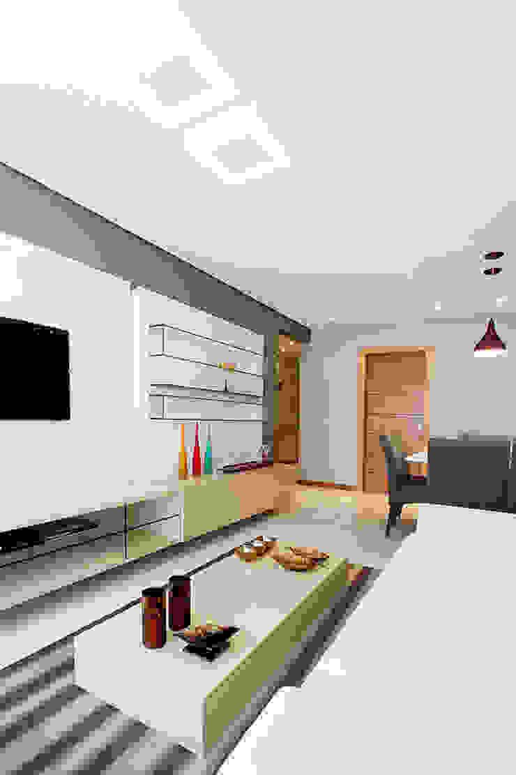 projeto |CM| Salas de estar modernas por Camila Bruzamolin - arquitetura Moderno