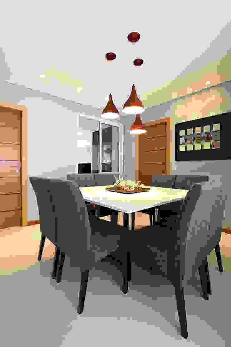 projeto |CM| Salas de jantar modernas por Camila Bruzamolin - arquitetura Moderno