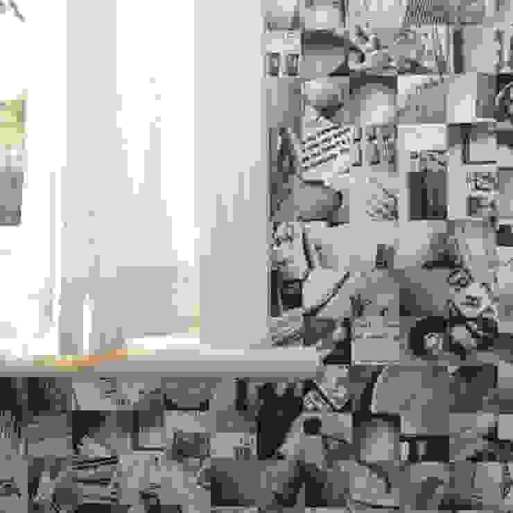 Mi Casa Su Casa - Monochrome: modern  by Identity Papers, Modern