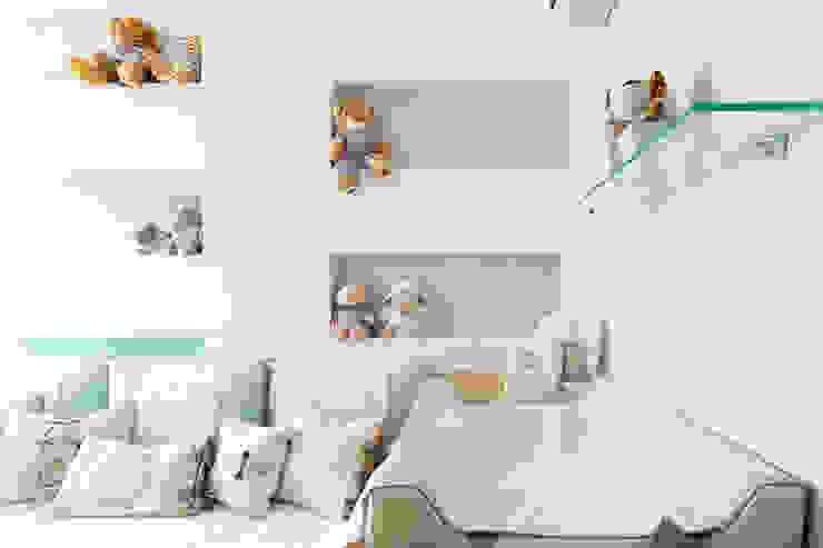 projeto |SS| Quarto infantil moderno por Camila Bruzamolin - arquitetura Moderno