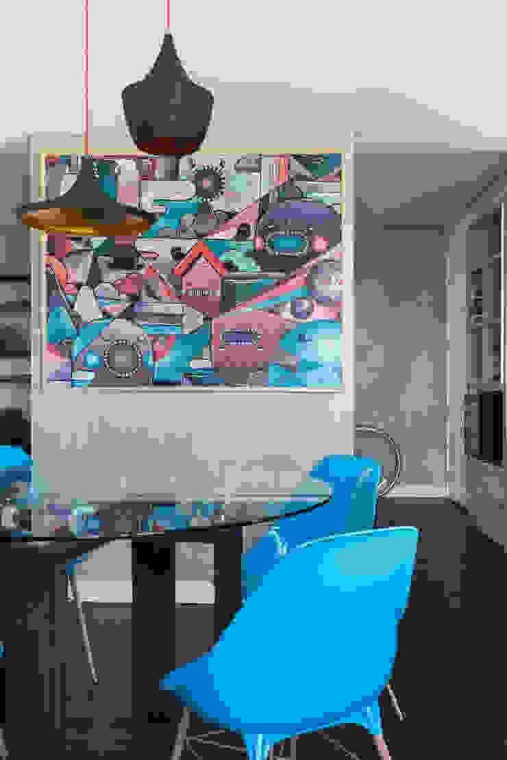 Moove Arquitetos Modern dining room