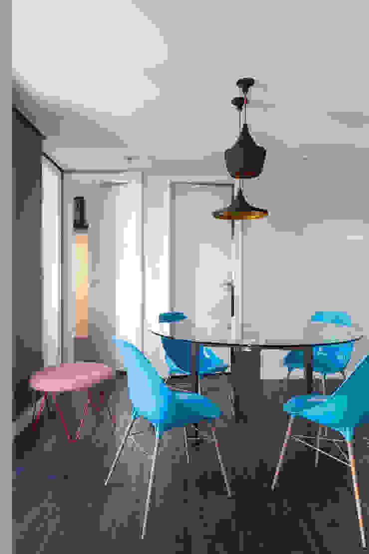 Moove Arquitetos Ruang Makan Modern