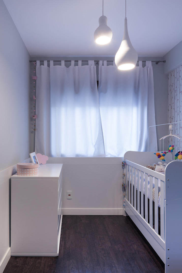 Moove Arquitetos Modern Kid's Room