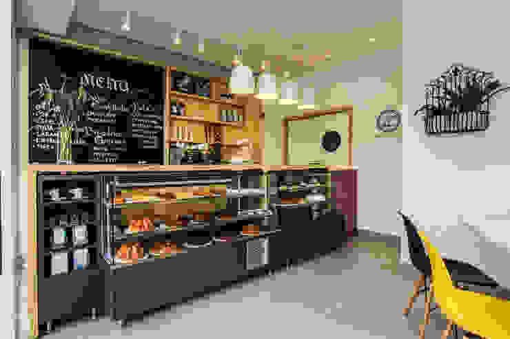 Atelier dos Bolos - Loja Santa Cecília Espaços gastronômicos modernos por SP Estudio Moderno