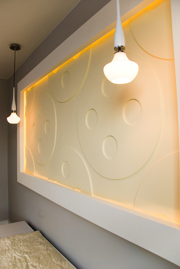 YNOX Architektura Wnętrz Moderne Schlafzimmer