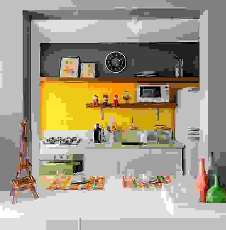 Cocinas de estilo ecléctico de Ambientta Arquitetura Ecléctico