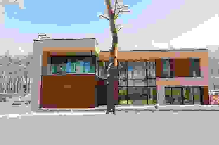 Дом в загородном поселке «Охтинский парк» от ALEXANDER ZHIDKOV ARCHITECT Скандинавский