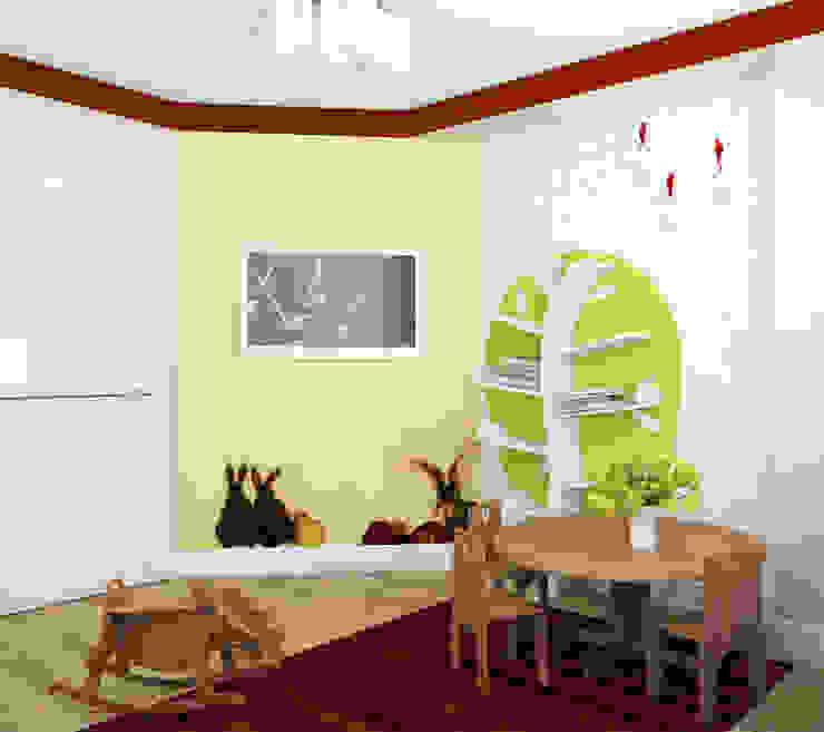 Детская Детская комнатa в стиле минимализм от Анпилогова Татьяна Минимализм
