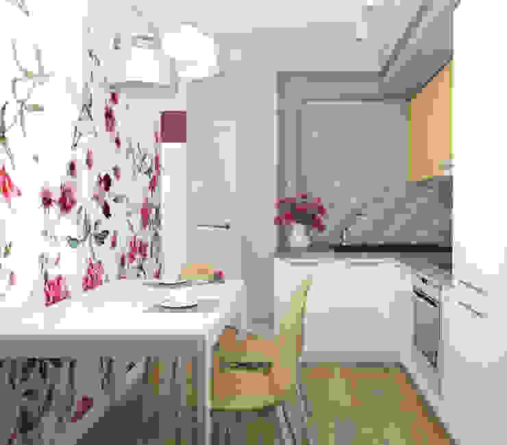 Кухня Кухня в стиле минимализм от Анпилогова Татьяна Минимализм