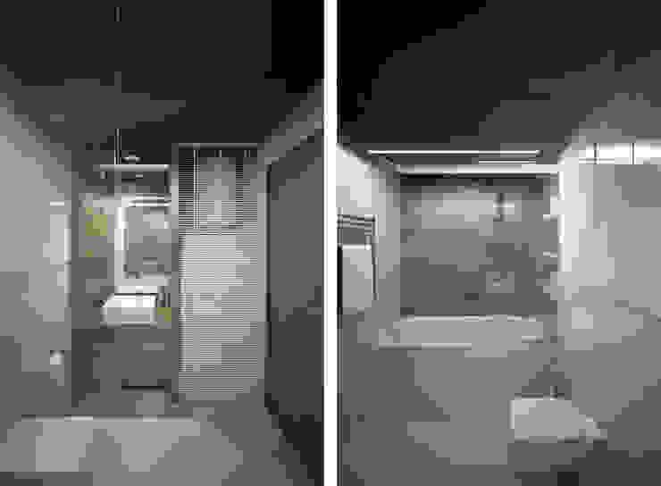 Квартира в ЖК Ромашково Ванная комната в стиле минимализм от lab21studio Минимализм