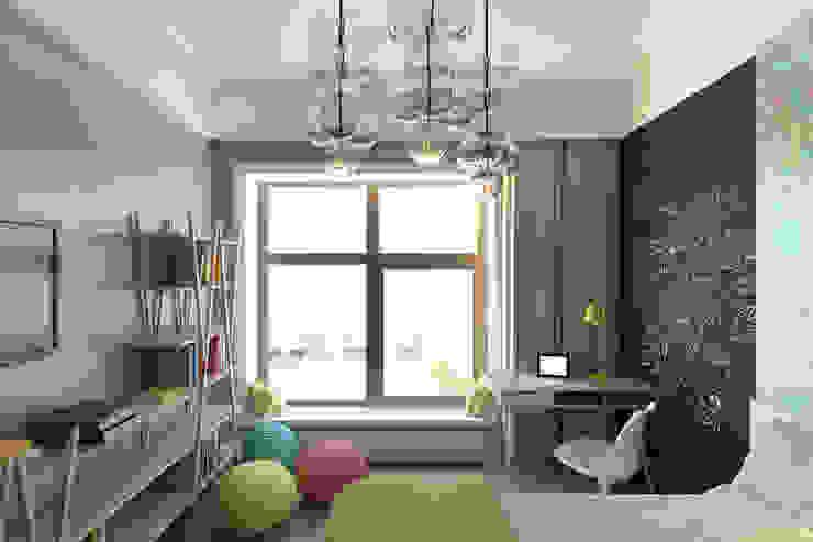 Eklektyczny pokój dziecięcy od lab21studio Eklektyczny