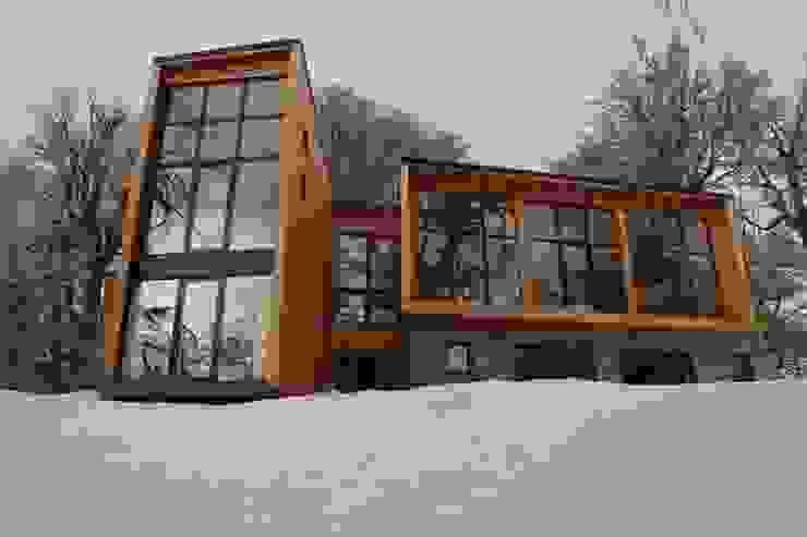 Hotéis  por Aguirre Arquitectura Patagonica, Escandinavo