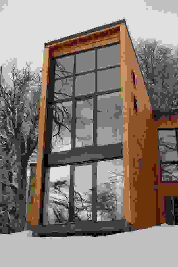 Las Murras – Las Pendientes – Patagonia Argentina Hoteles de estilo escandinavo de Aguirre Arquitectura Patagonica Escandinavo