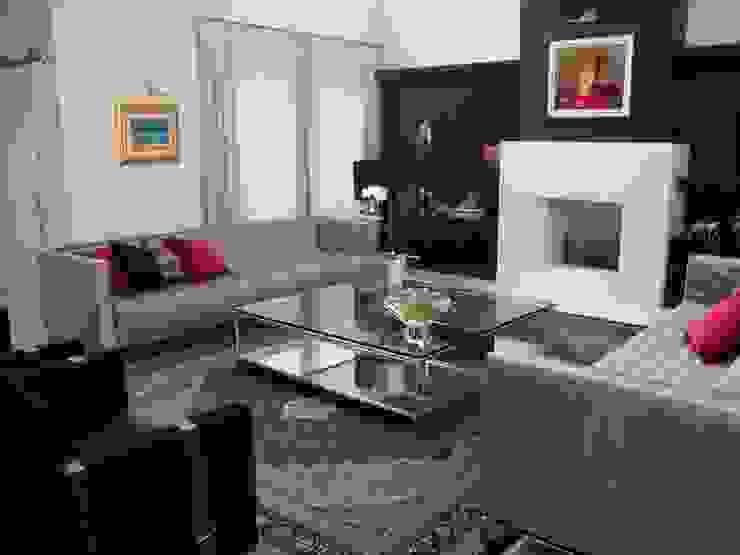 Sala de estar Salas de estar modernas por Geraldo Brognoli Ludwich Arquitetura Moderno