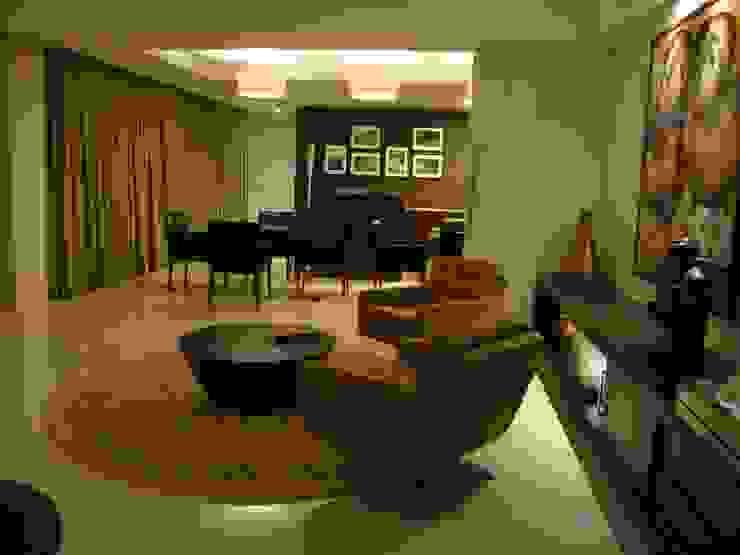 pequeno estar Salas de estar modernas por Geraldo Brognoli Ludwich Arquitetura Moderno