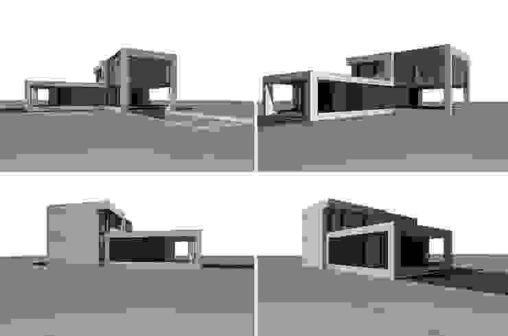 Дом-аквариум Дома в стиле лофт от ALEXANDER ZHIDKOV ARCHITECT Лофт