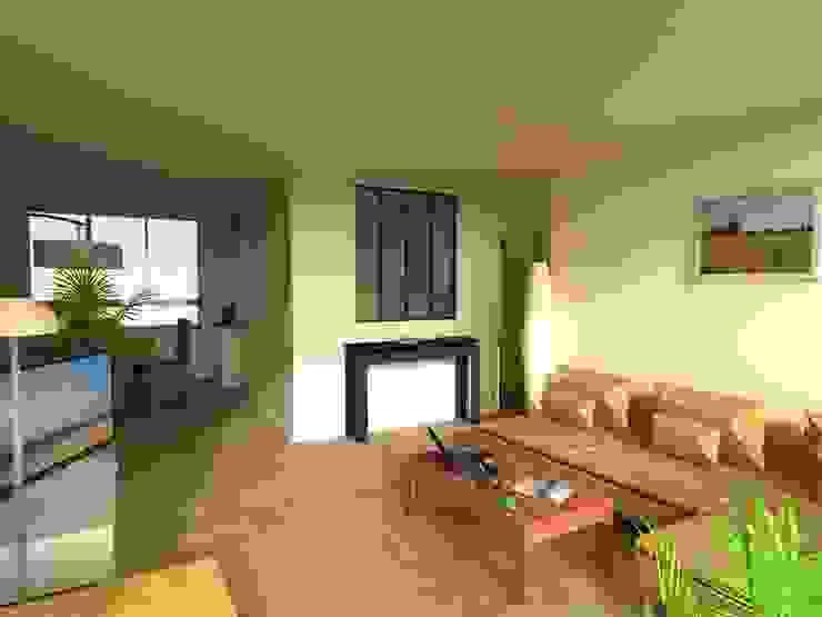 Projet de modification des volumes par Reinvente Ta Maison Moderne