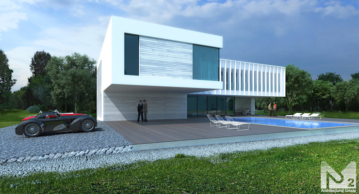 Houses by ALEXANDER ZHIDKOV ARCHITECT,