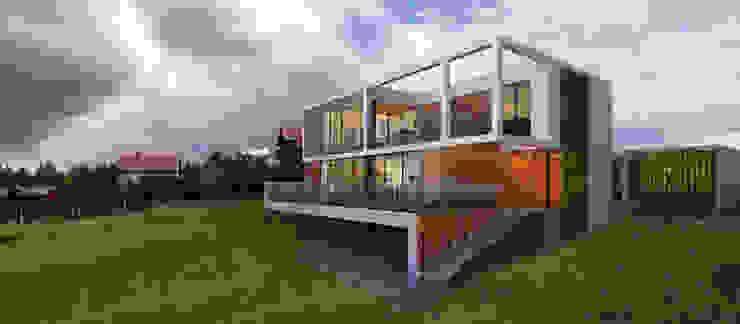 Дом во Львове Дома в стиле минимализм от ALEXANDER ZHIDKOV ARCHITECT Минимализм
