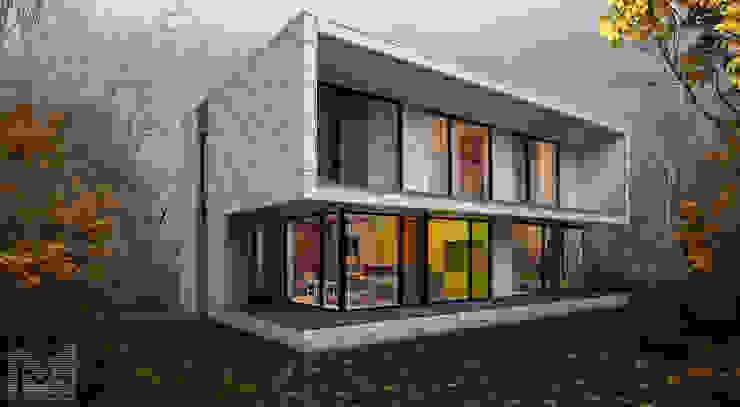 sugar house: Дома в . Автор – ALEXANDER ZHIDKOV ARCHITECT,