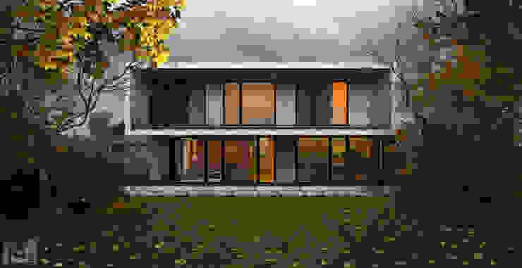 sugar house Дома в стиле минимализм от ALEXANDER ZHIDKOV ARCHITECT Минимализм