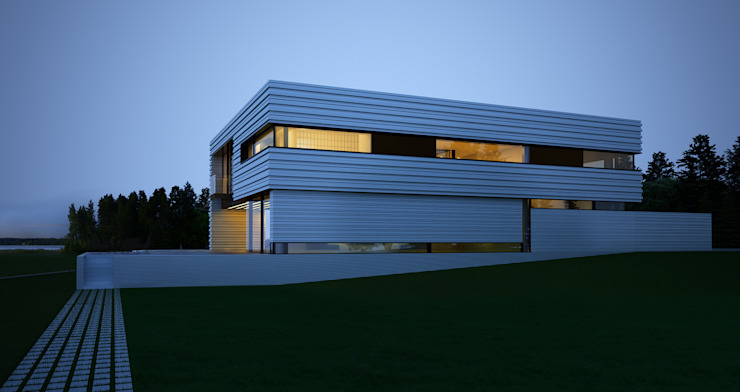 Houses by ALEXANDER ZHIDKOV ARCHITECT,