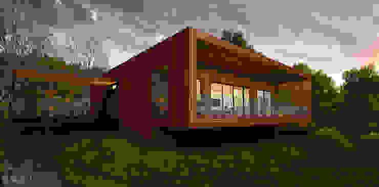 Casas de estilo  por ALEXANDER ZHIDKOV ARCHITECT, Escandinavo