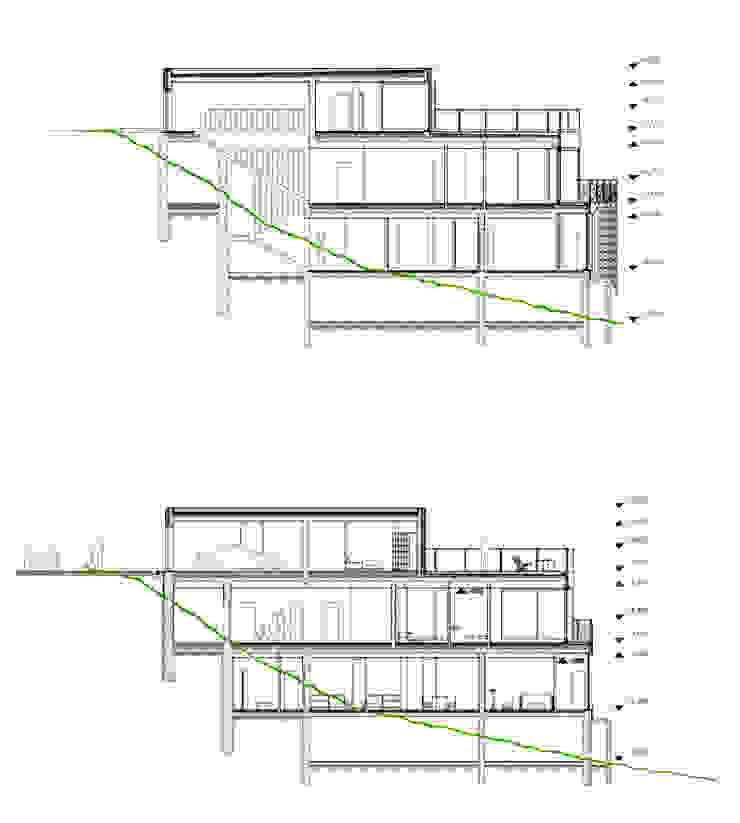 Дом в Гурзуфе от ALEXANDER ZHIDKOV ARCHITECT Минимализм
