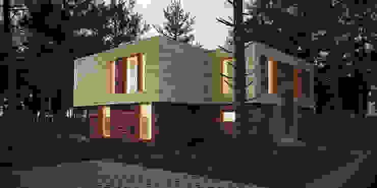 Casas escandinavas por ALEXANDER ZHIDKOV ARCHITECT Escandinavo