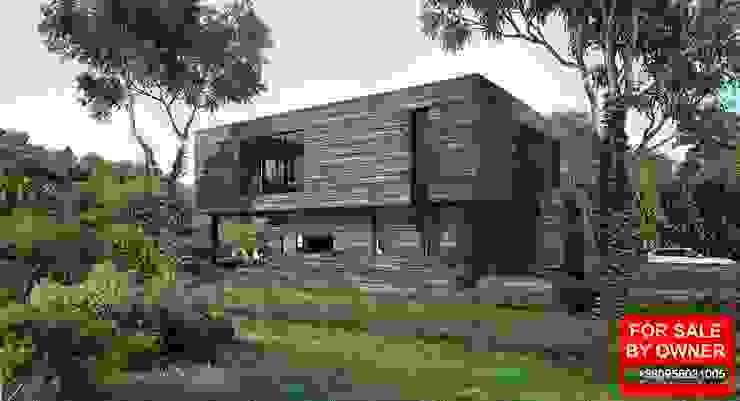 Casas de estilo escandinavo de ALEXANDER ZHIDKOV ARCHITECT Escandinavo