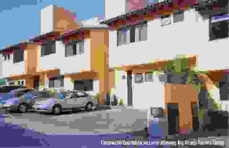 Fachada exterior Casas modernas de Ramírez Cuesta Arquitectos Moderno