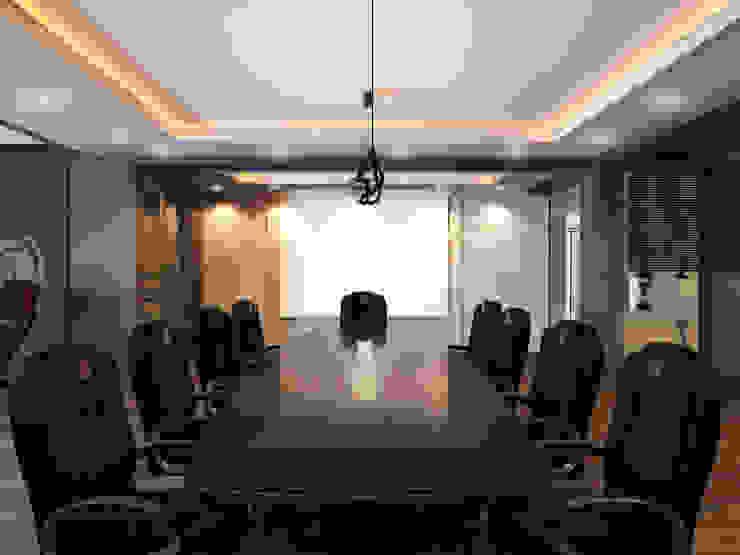 Дизайн кабинета <q>МФК Кайрат</q> Офисные помещения в стиле минимализм от AIR Design Минимализм