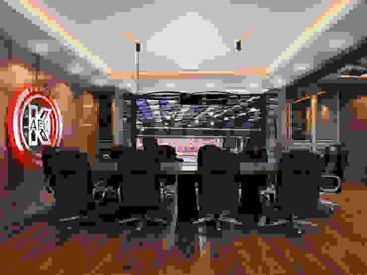 Дизайн кабинета <q>МФК Кайрат</q> Конференц-центры в стиле минимализм от AIR Design Минимализм