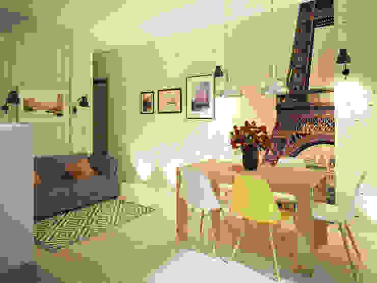 Квартира в стиле лофт Кухня в стиле лофт от Polovets design studio Лофт
