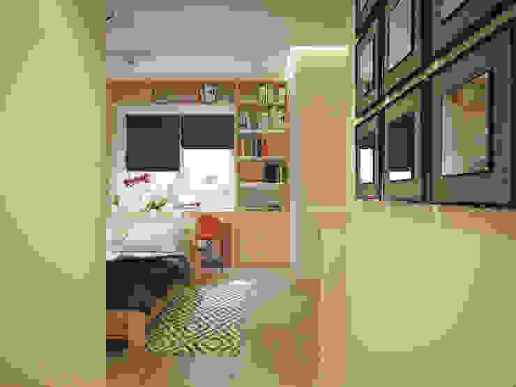 Polovets design studio 臥室